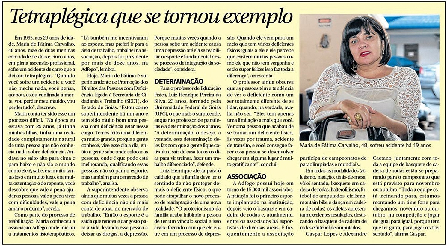 Reportagem Clara - DM 31 de Agosto de 2014